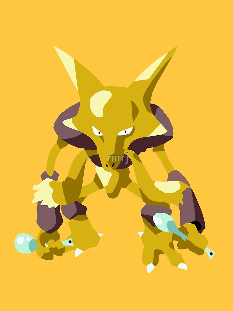 Alakazam Pokemon Simple No Borders by mrrj