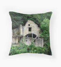 Jesmond Dene Old Mill Throw Pillow