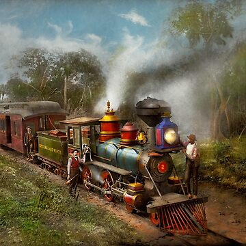 Train - The Celestial Railroad 1896 by mikesavad