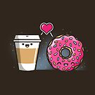 Donut Coffee Love by fishbiscuit