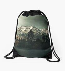 Dark Trees - New Zealand Landscape Drawstring Bag