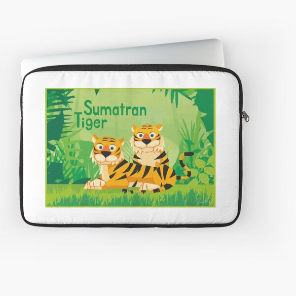 Sumatran Tiger art Laptop Sleeve