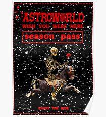 Astroworld Season Pass Poster  Poster