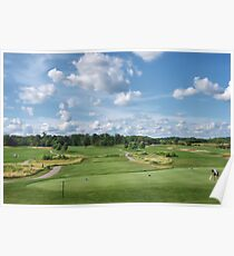 Timber Pointe Golf Course Poster
