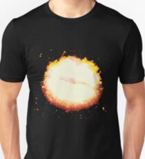 Kiss lips burning Unisex T-Shirt
