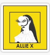 Allie X Sticker