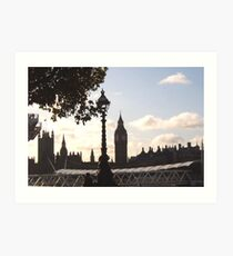 St Stephens Tower Art Print