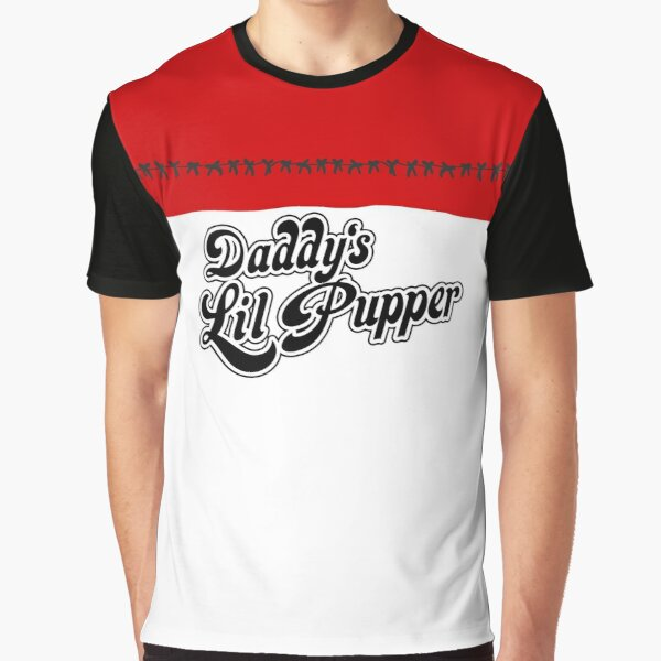 Daddys Lil Pupper Graphic T-Shirt