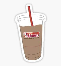 Dunkiniced coffee Sticker
