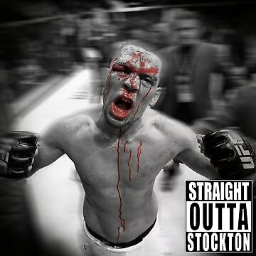 Nate Diaz - Straight Outta Stockton by MMATEES