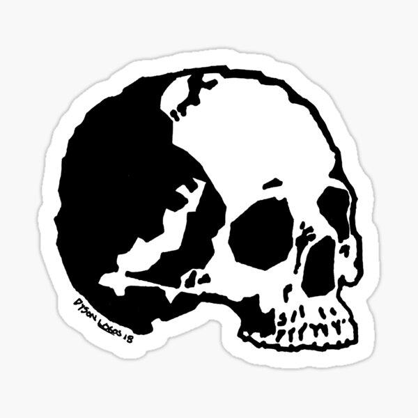Skull Variations 1 Sticker