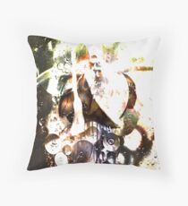 The Anointing Oil Throw Pillow