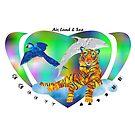 Air, Land & Sea Creatures by Faith Dominoe