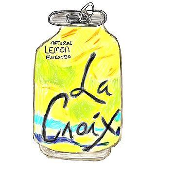 Lemon La Croix  by jeremiahm08