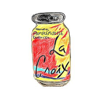 Pamplemousse La Croix Drawing by jeremiahm08