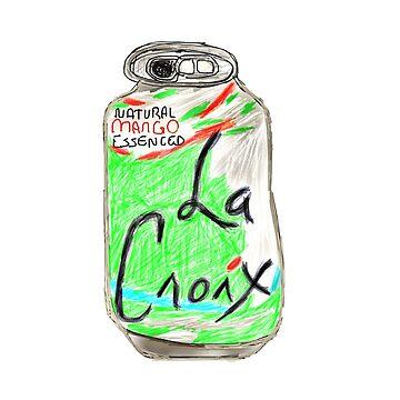 Mango La Croix Drawing by jeremiahm08