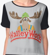Walley World - Vintage Chiffon Top