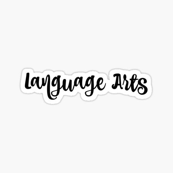 Language Arts  Sticker