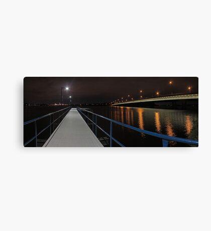 New Mount Henry Bridge Jetty - Western Australia  Canvas Print
