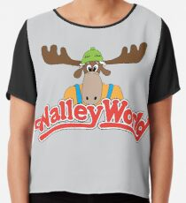 Walley World Chiffon Top
