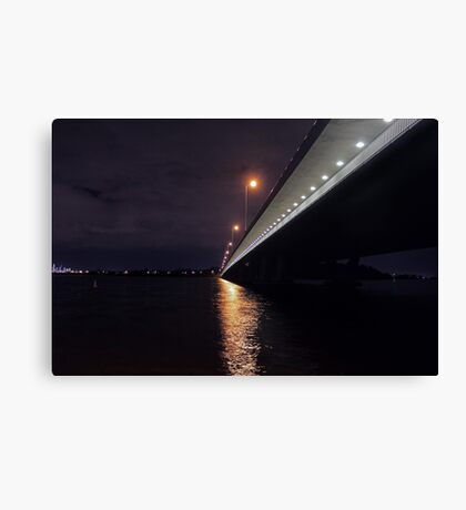 Under The Mount Henry Bridge  Canvas Print