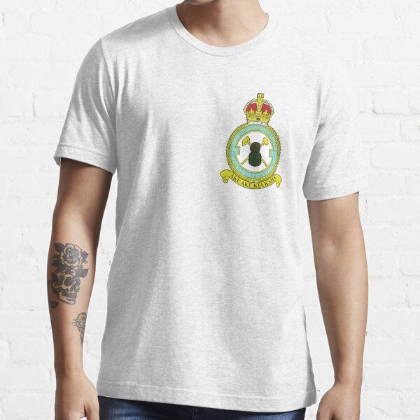 75(NZ) Squadron RAF Full Colour crest (small) Essential T-Shirt