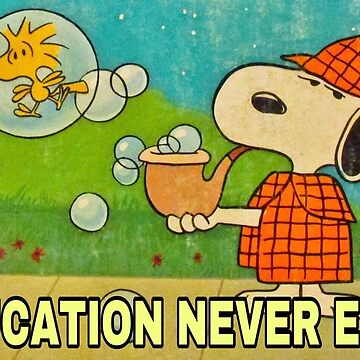 Sherlock Snoopy by Cornchipsrpunk