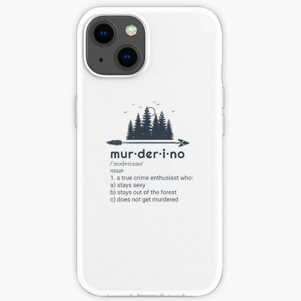 Murderino, My Favorite Murder, True Crime, SSDGM iPhone Soft Case