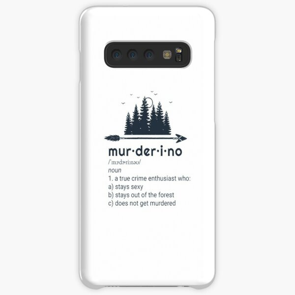 Murderino, My Favorite Murder, True Crime, SSDGM Samsung Galaxy Snap Case