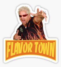 Guy Fieri - Flavortown Sticker