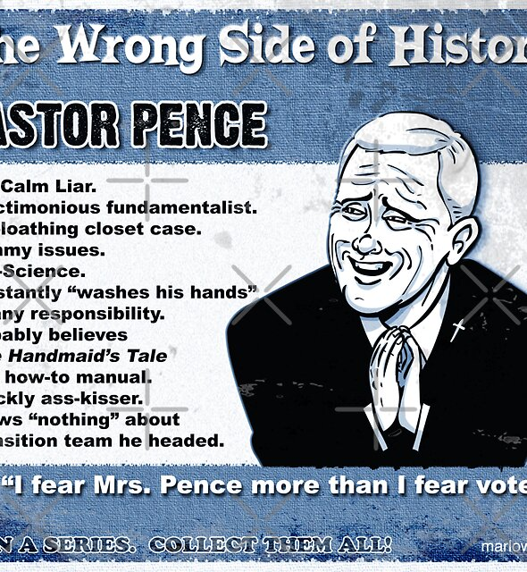 Pastor Pence by marlowinc