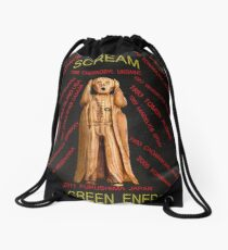 Nuclear Energy Drawstring Bag