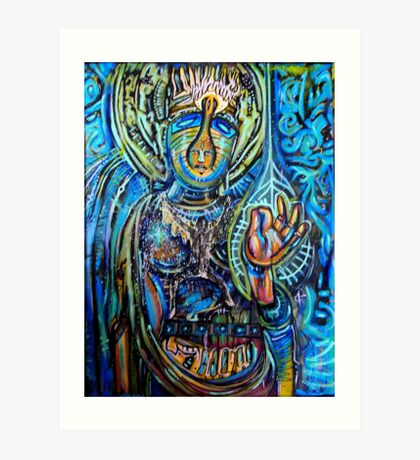 Mudra Art Print