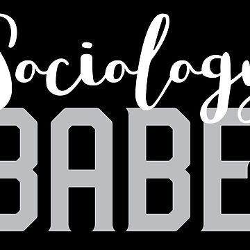Sociology Babe by jazzydevil