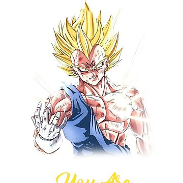 If People Are Trying To Bring You Down It Only Means That You Are Above Them Vegeta T-Shirt by danielnguyen31