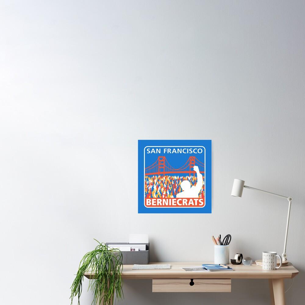 SF Berniecrats Poster
