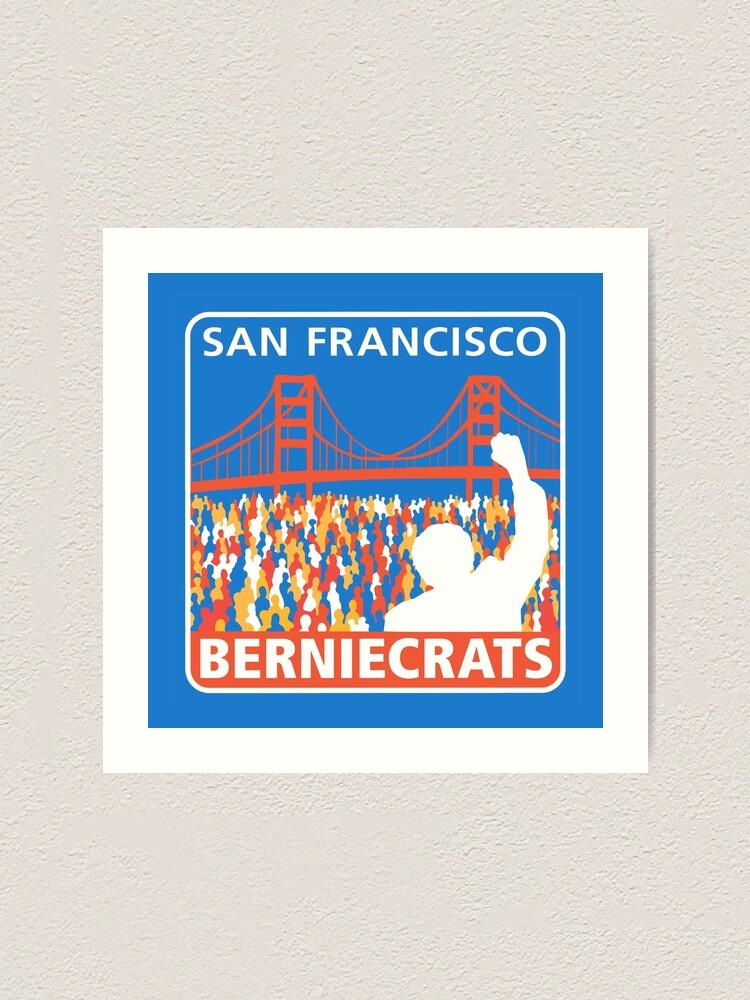 Alternate view of SF Berniecrats Art Print