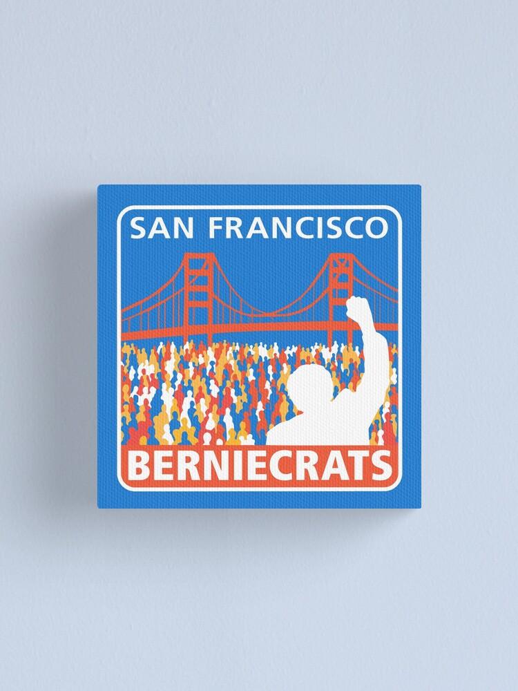 Alternate view of SF Berniecrats Canvas Print