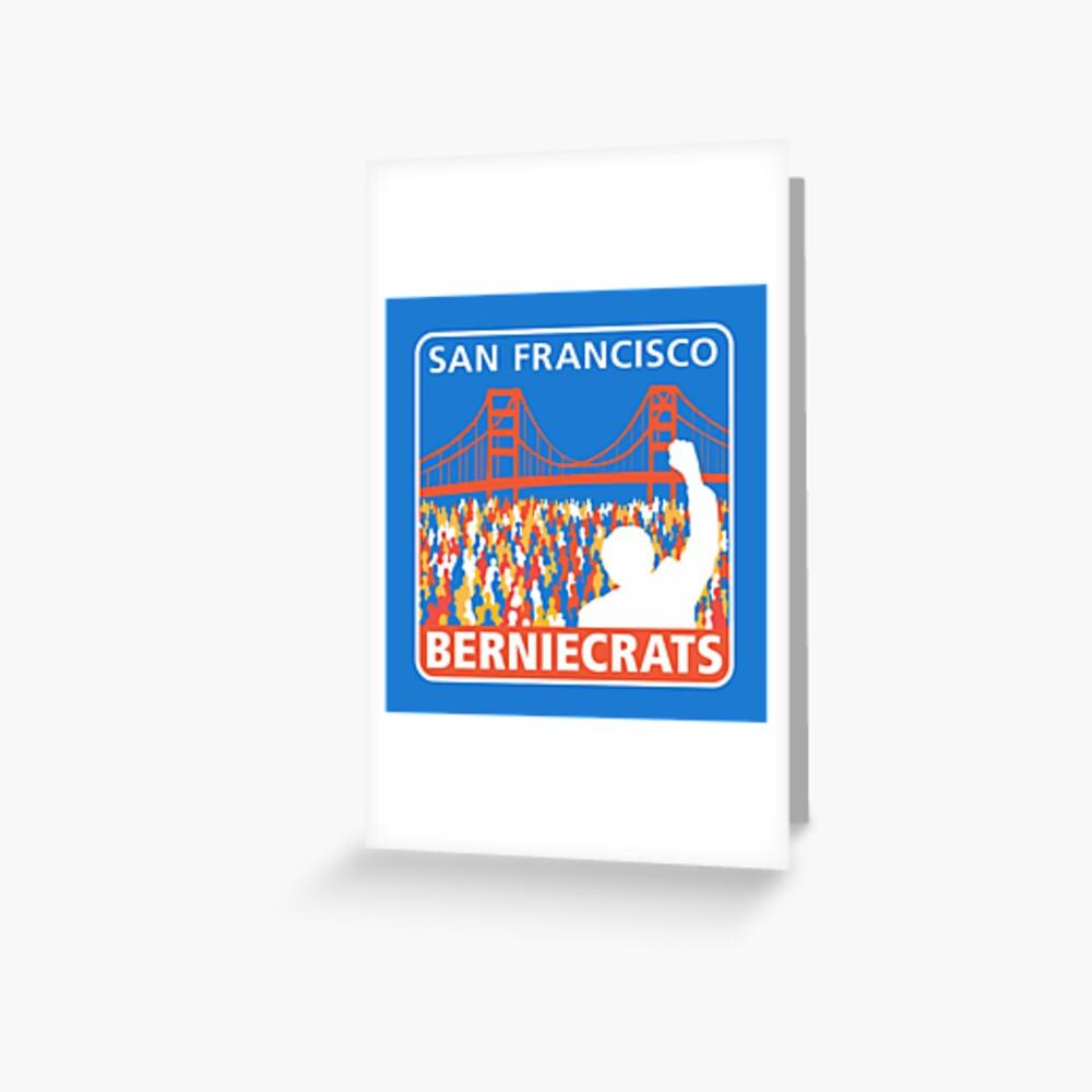 SF Berniecrats Greeting Card