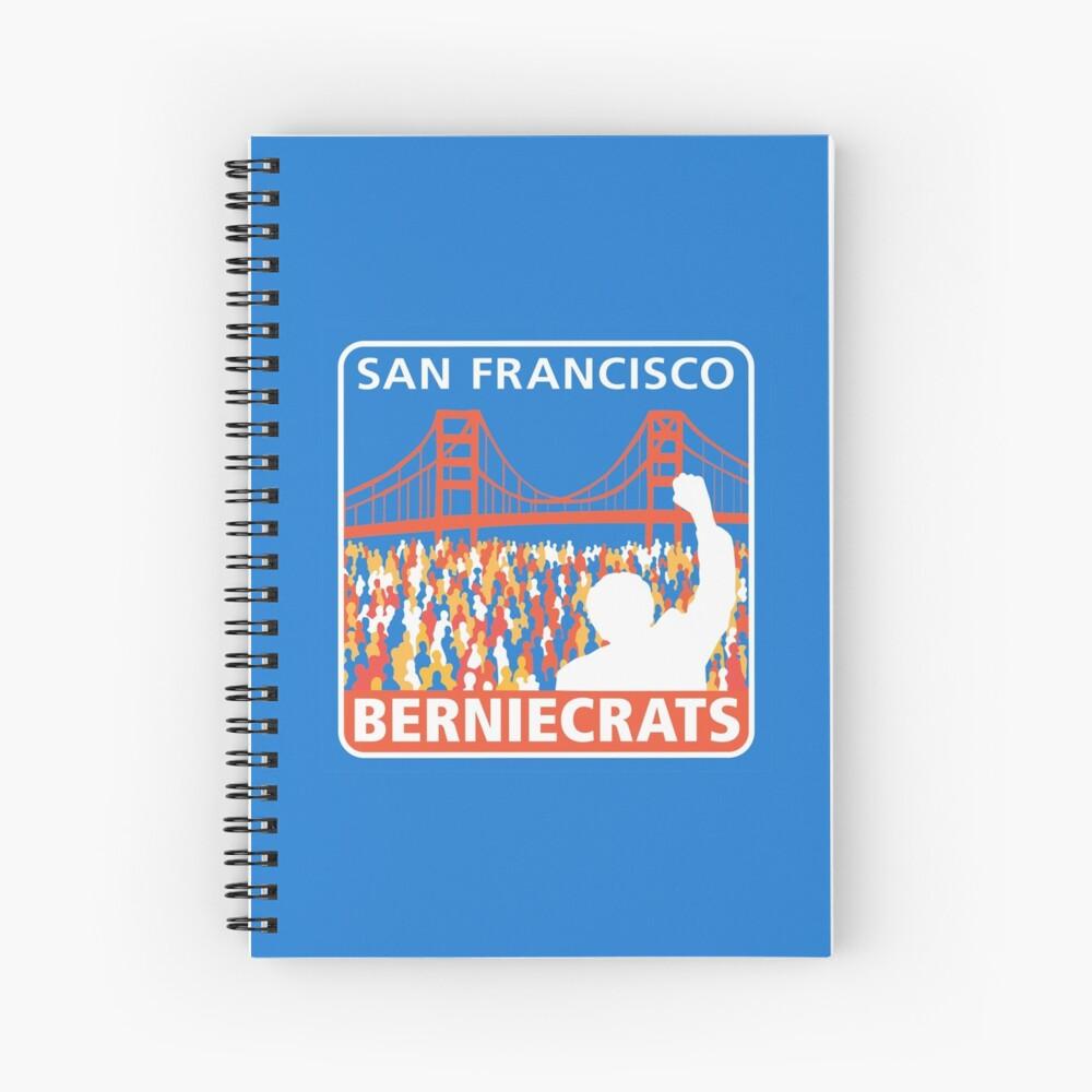 SF Berniecrats Spiral Notebook