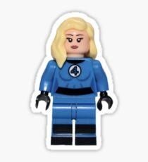 LEGO Invisible Woman / Sue Storm Sticker