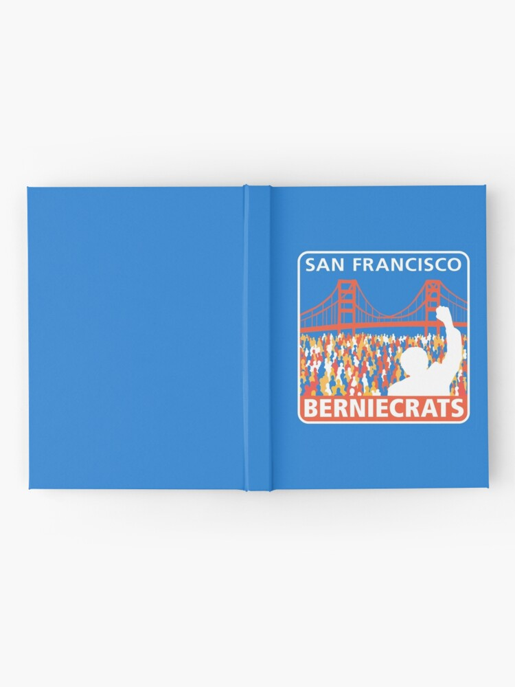 Alternate view of SF Berniecrats Hardcover Journal