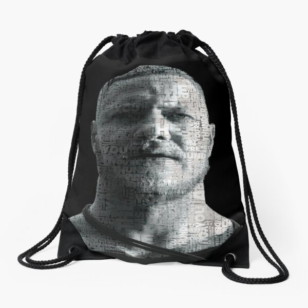 Thunder Art Drawstring Bag