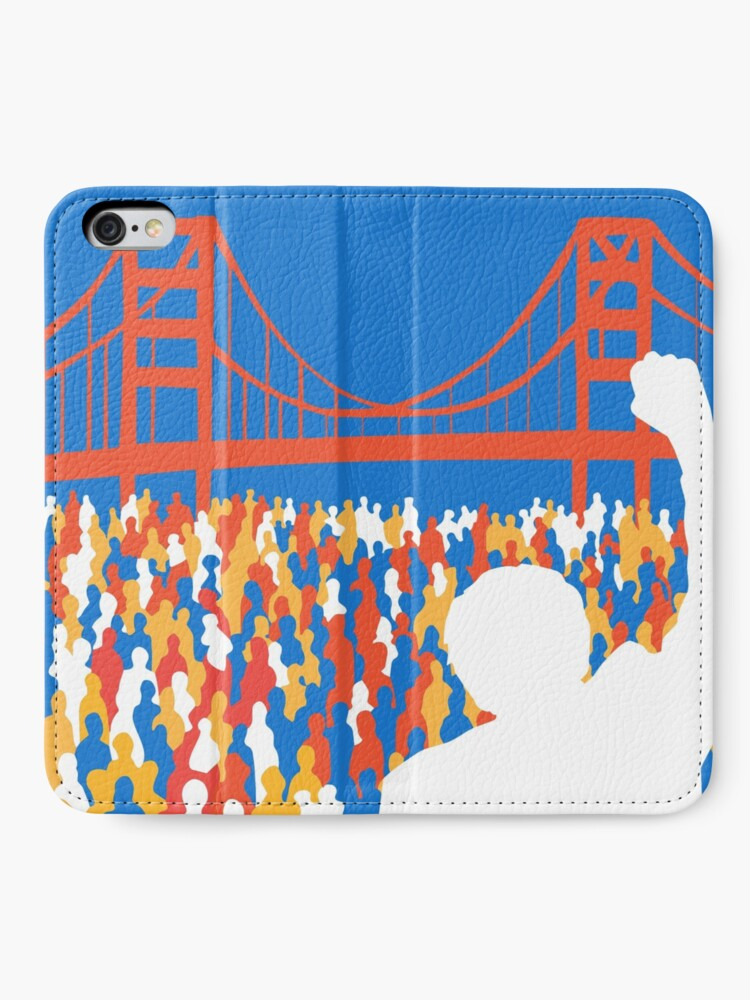 Alternate view of SF Berniecrats iPhone Wallet
