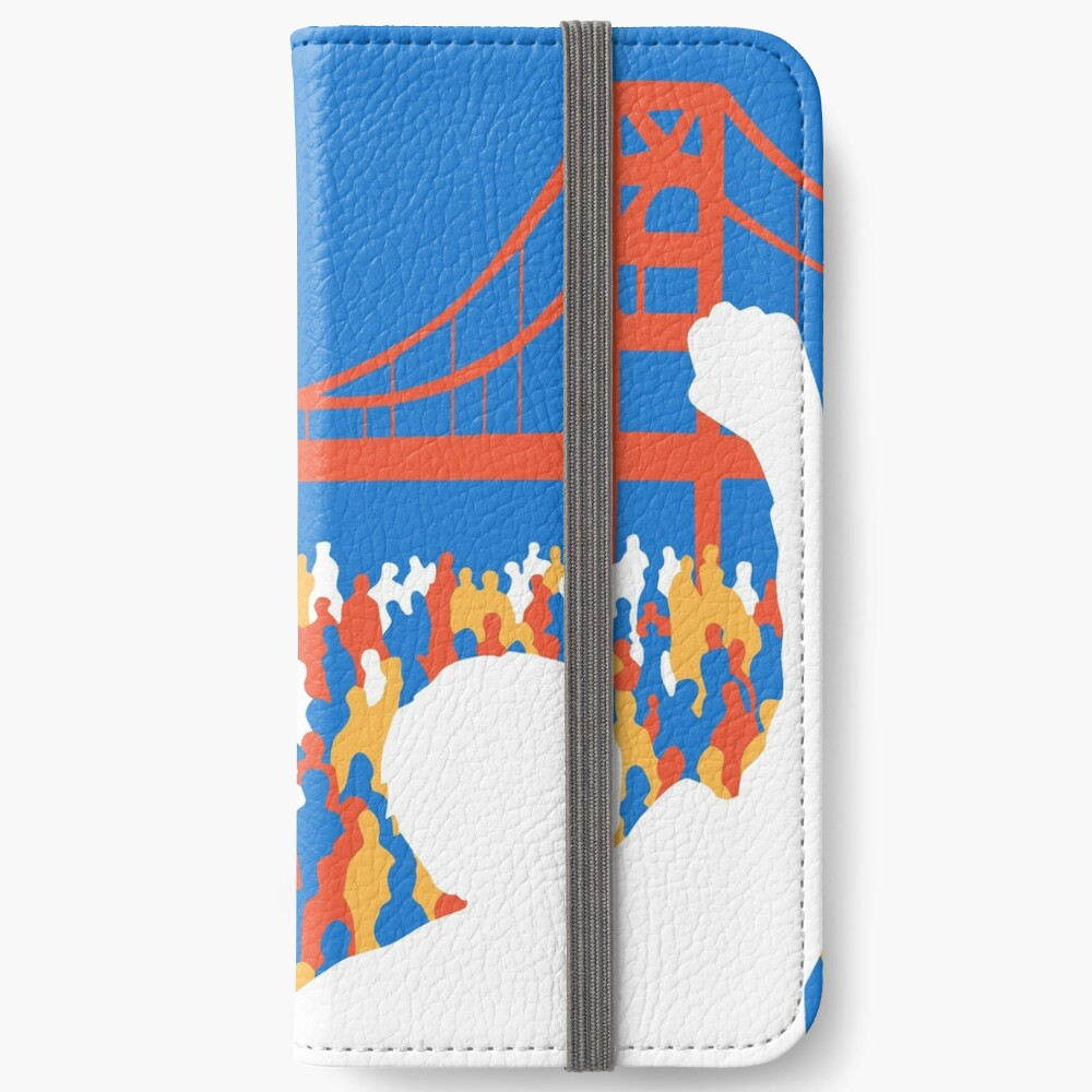 SF Berniecrats iPhone Wallet
