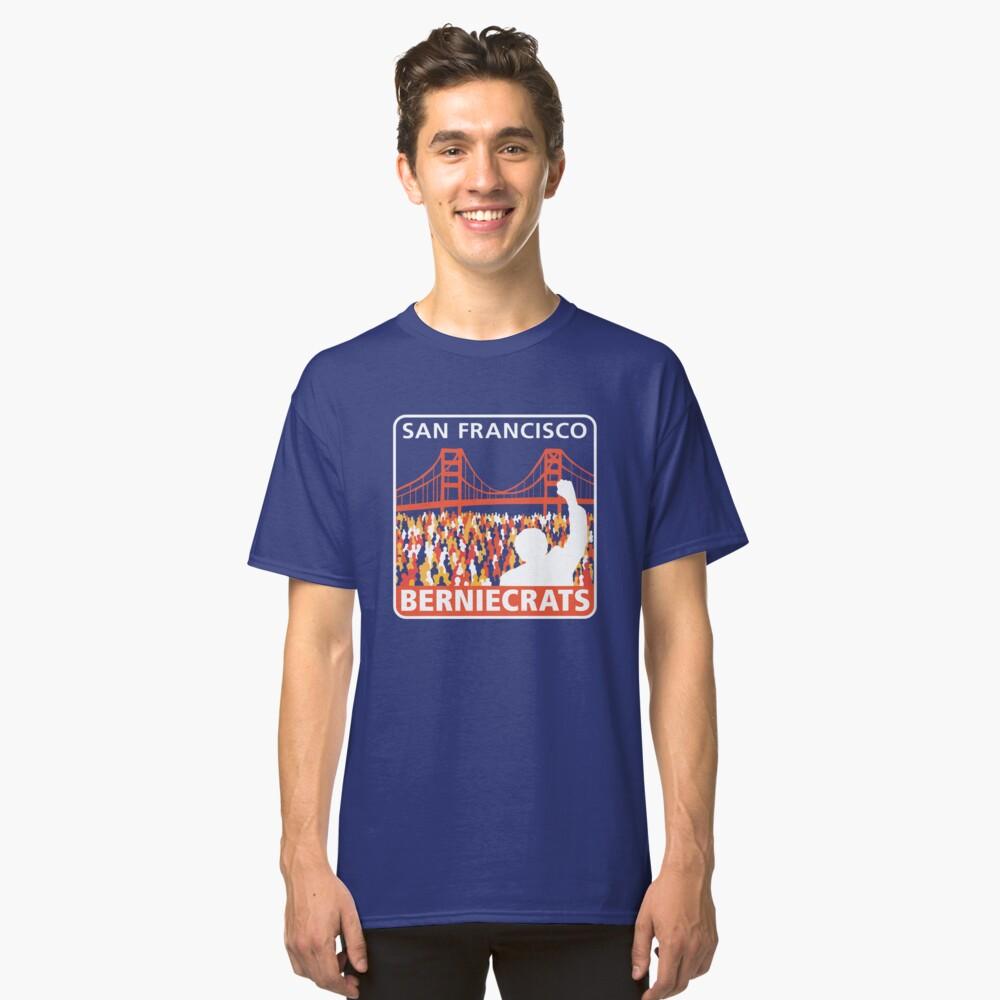 SF Berniecrats Classic T-Shirt Front