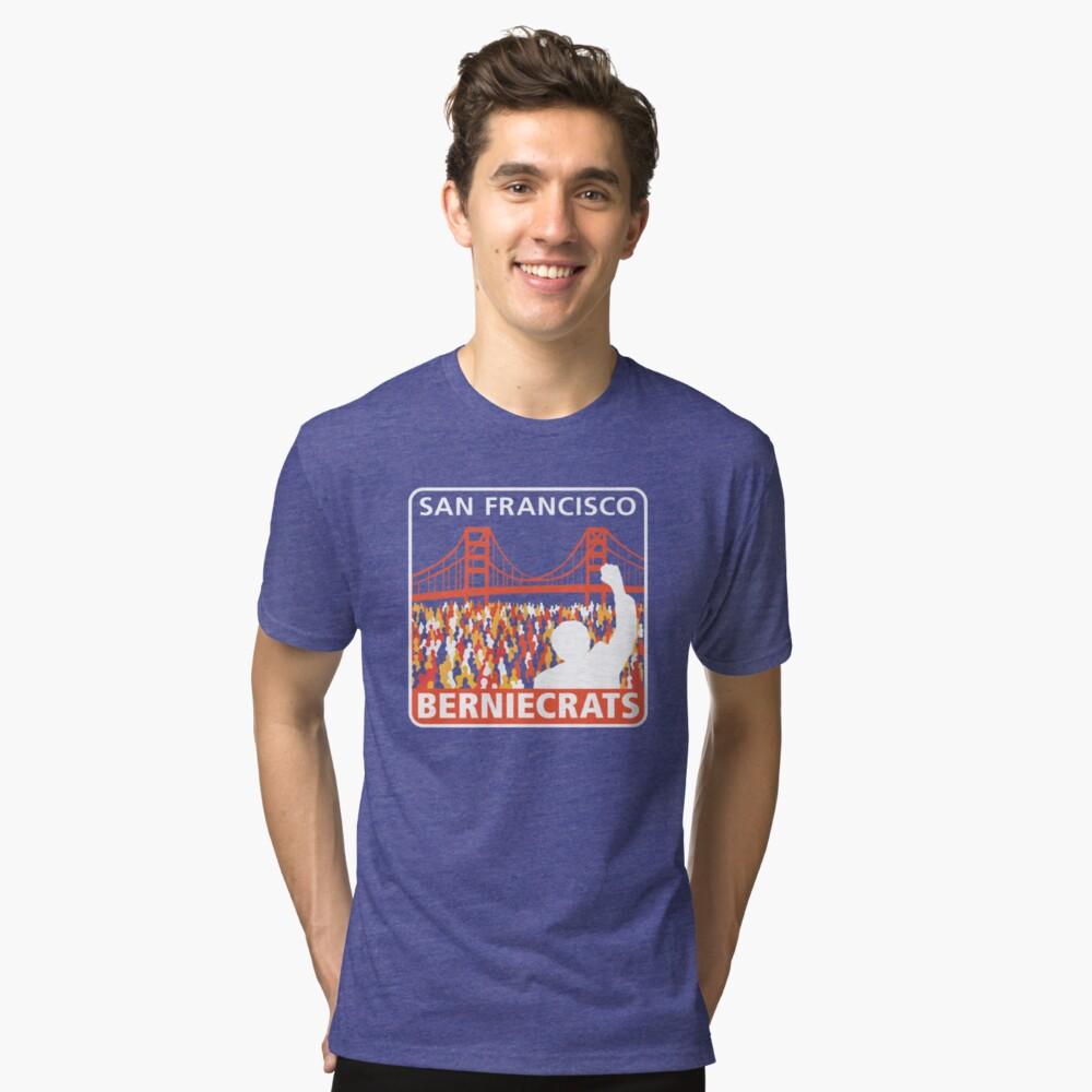 SF Berniecrats Tri-blend T-Shirt