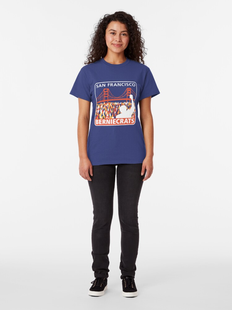 Alternate view of SF Berniecrats Classic T-Shirt