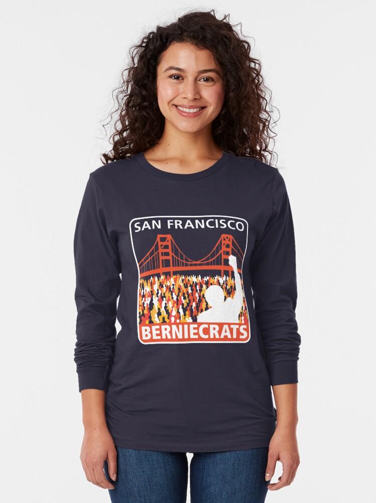Alternate view of SF Berniecrats Long Sleeve T-Shirt