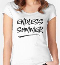 Endless Summer T-Shirt Women's Fitted Scoop T-Shirt
